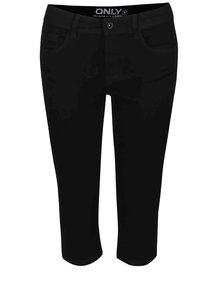 Černé krátké džíny pod kolena ONLY New Ultimate