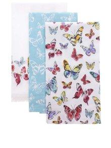 Set de 3 prosoape Cooksmart Butterfly