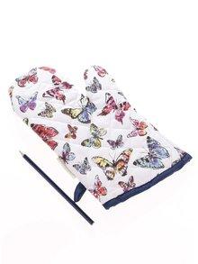Modro-biela chňapka s motívom motýľov Cooksmart Butterfly