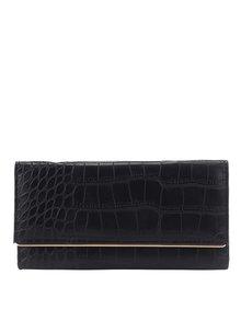 Čierna peňaženka s hadím vzorom Haily's Snake