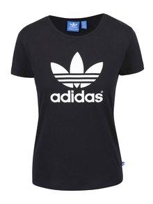 Černé dámské tričko s logem adidas Originals