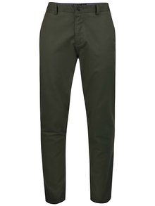 Kaki chino nohavice Burton Menswear London