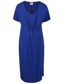 Modré tehotenské šaty Mama.licious Rape