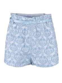 Pantaloni scurți cu imprimeu Anna Smith albaștri