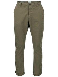 Khaki regular kalhoty ONLY & SONS Sharp