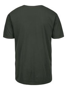 Tricou verde din bumbac - Only & Sons Kanta