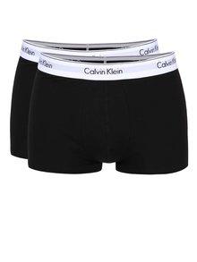 Sada dvou boxerek černé barvě Calvin Klein