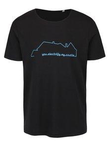 Čierne pánske tričko ZOOT Originál Electric Castle