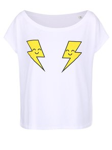 Tricou alb femei ZOOT Original X Electric Castle