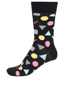 Čierne unisex ponožky Happy Socks Play