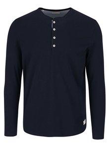 Tmavě modré tričko s dlouhým rukávem Selected Homme Niklas
