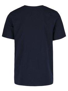 Tricou albastru închis Jack & Jones Rraffa cu print