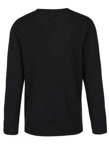Bluza neagra - Jack & Jones Slub