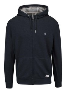 Hanorac bleumarin cu glugă Original Penguin Saddle Hoody