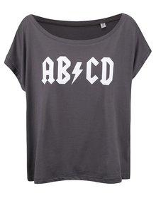 Tricou gri din bumbac pentru femei - ZOOT Original ABCD