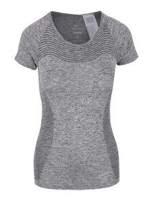 Šedé dámské tričko Nike Dri-Fit Knit