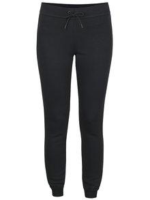 Pantaloni sport negri Nike Modern Pant cu manșete elastice