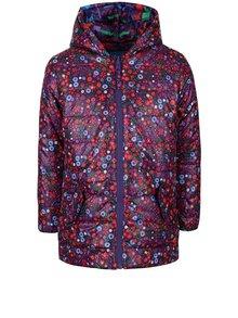 Jachetă midi multicoloră și reversibilă Boboli pentru fete