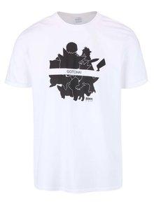 Bílé pánské triko ZOOT Originál Gotcha