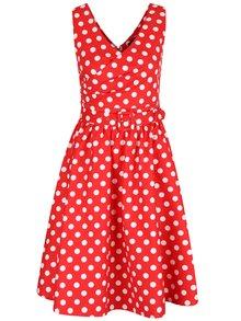 Rochie roșie cu buline Dolly & Dotty May