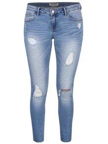 Světle modré skinny džíny s roztrhaným efektem TALLY WEiJL