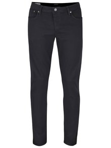 Blugi slim fit Jack & Jones Glenn negri