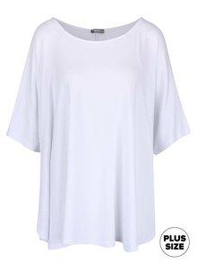 Bílé dámské volnější  tričko s netopýřími rukávy ZOOT simple