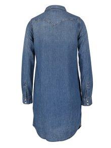 Modré džínové šaty s dlouhým rukávem Levi's®