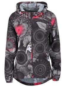 Sivá ľahká bunda s ornamentmi Desigual Sport Chaq
