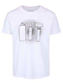 Biele pánske tričko ZOOT Originál Weapons