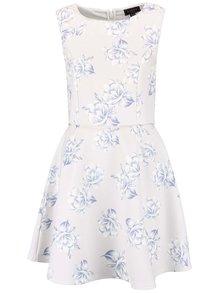 Krémové šaty s květovaným vzorem Lipsy