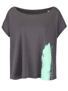 Sivé dámske voľnejšie tričko ZOOT Originál Sorry This Clear T-shirt Was Boring Me