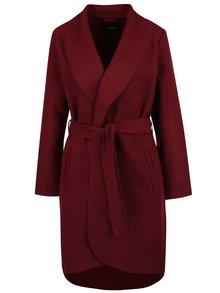 Vínový kabát VILA Ida