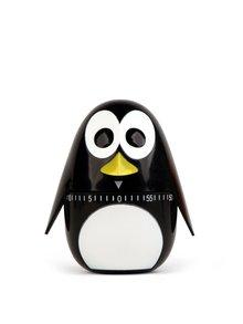 Čierna minútka do kuchyne v tvare tučniaka Kikkerland