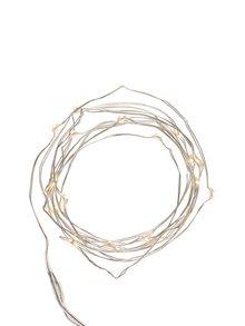 Svietiaca reťaz v striebornej farbe Kikkerland Wire
