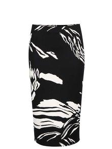 Krémovo-černá pouzdrová sukně Dorothy Perkins