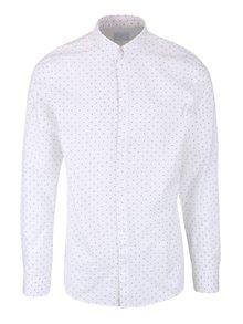 Bílá košile s jemným vzorem Selected Homme Don Elenn
