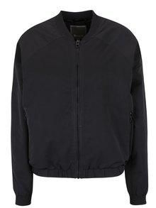Jachetă neagră bomber Bench pentru femei