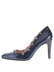 Pantofi albastru-închis OJJU cu ținte
