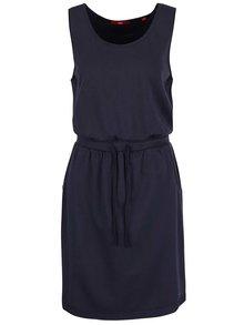 Tmavě modré dámské šaty s.Oliver