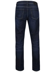Blugi bleumarin cu aspect prespalat - Selected Homme Three Dean