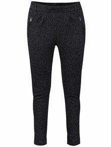 Pantaloni sport negru melanj ONLY Poptrash