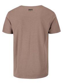 Šedozelené pánské tričko ZOOT Originál Nakŕmiť