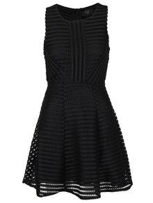 Černé krajkové šaty AX Paris