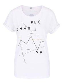 """""""Dobré"""" biele dámske tričko pre Plechárnu"""