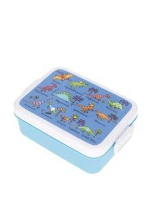 Cutie pentru gustări albastră Tyrrell Katz Dinosaurus pentru băieți
