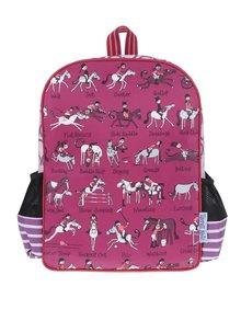 Tmavě růžový holčičí batoh Tyrrell Katz Horse