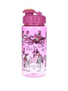 Fialová holčičí láhev na pití Tyrrell Katz Horses