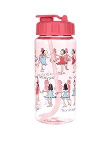 Sticlă roșie Tyrrell Katz Ballet pentru fete
