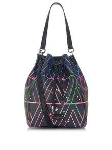 Černá kabelka s barevným vzorem Paul's Boutique Hattie